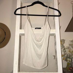 Bundle Boohoo cowl neck tank top